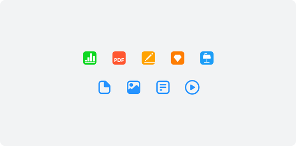 new icons library